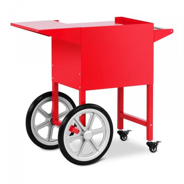 Chariot à popcorn rouge