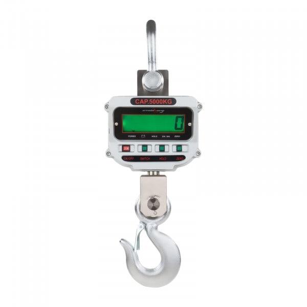 Gesamtansicht von Kranwaage - 5 t / 1 kg - LCD