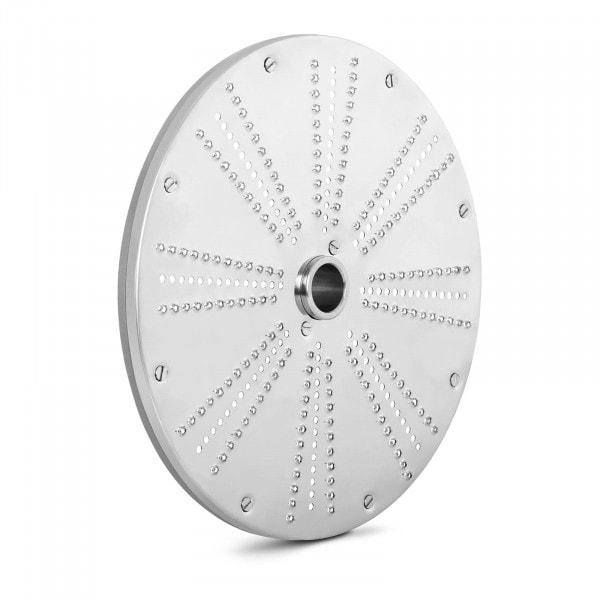 Disque à râper - 205 mm - Épaisseur de coupe 1 mm - Inox