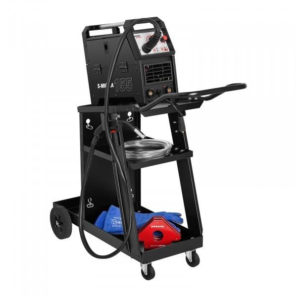 Chariot poste à souder - incliné - 3 compartiments - 75 kg