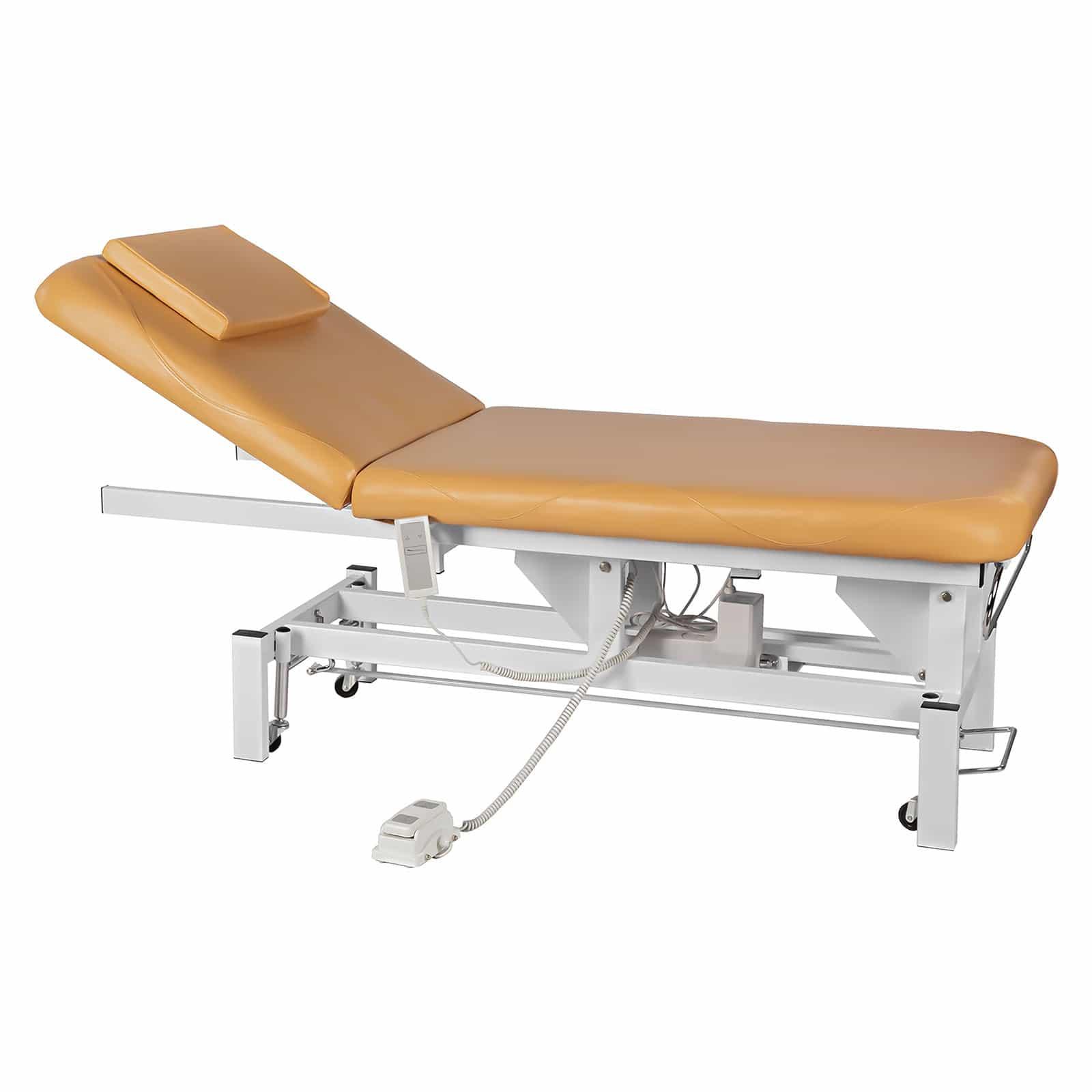 Table de massage sana lectrique beige - Table electrique osteopathie occasion ...