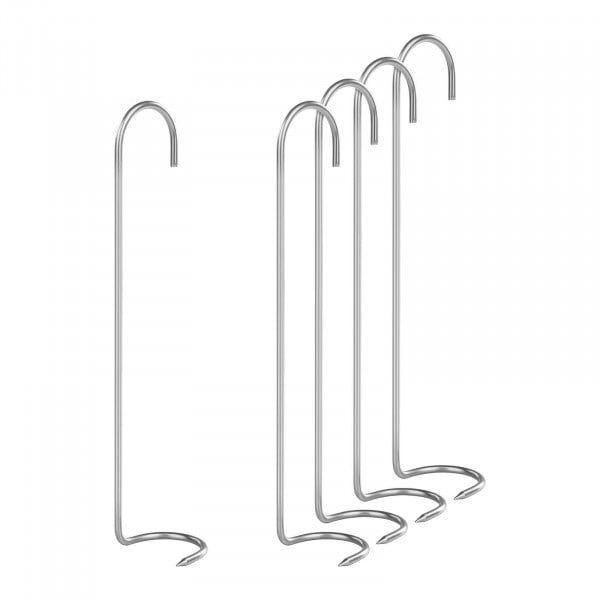 Crochets de fumage set de 5 pièces - avec crochets-griffes