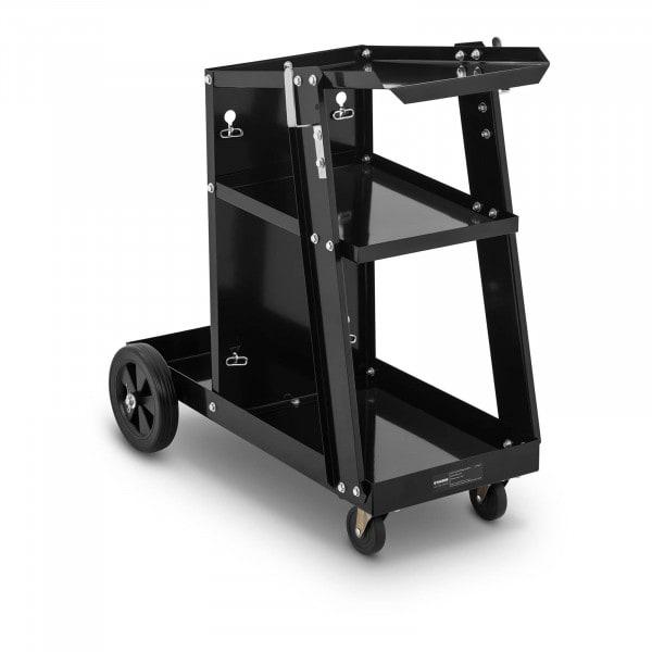 Chariot poste à souder - 3 étagères - 80 kg