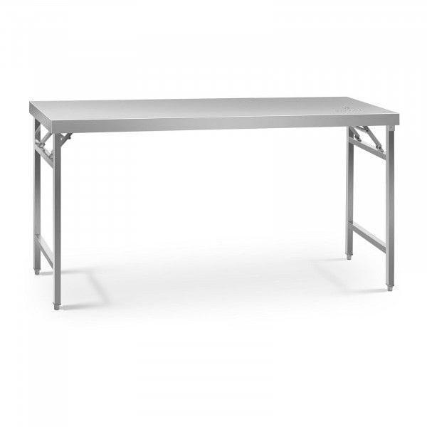 Table de travail pliante - 60 x 180 cm - Capacité de 230 kg