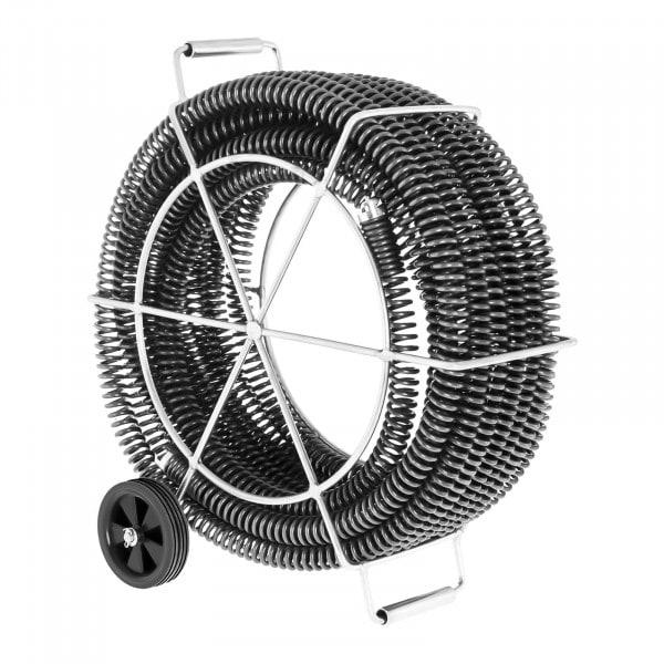 Spirales de plomberie - Lot de 4 x 4,65 m - Ø 32 mm