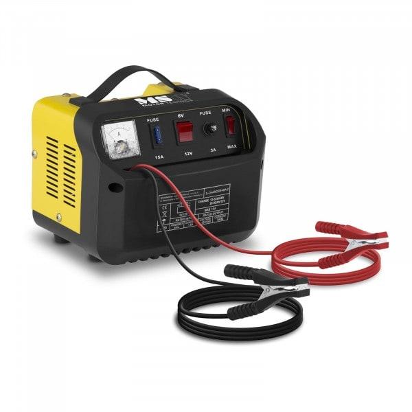 Chargeur de batterie voiture - 6/12 V - 5/8 A - Panneau de commande incliné