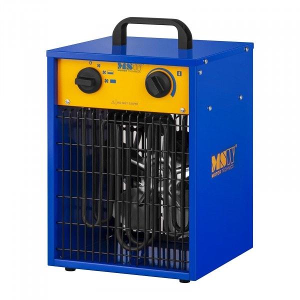 Chauffage à air pulsé électrique avec fonction de refroidissement - 0 à 85 °C - 3 300 W