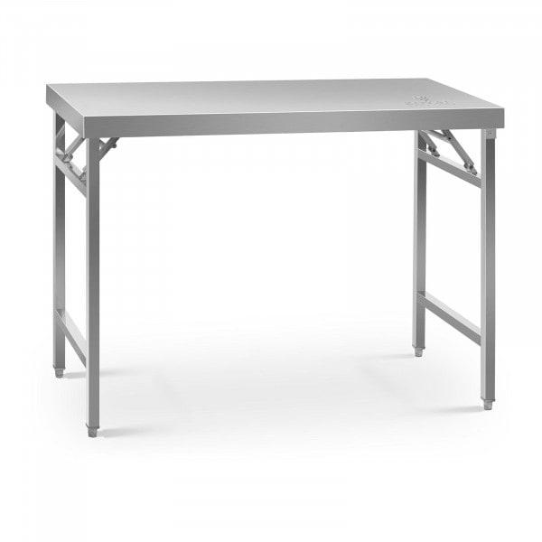 Table de travail pliante - 60 x 120 cm - Capacité de 210 kg