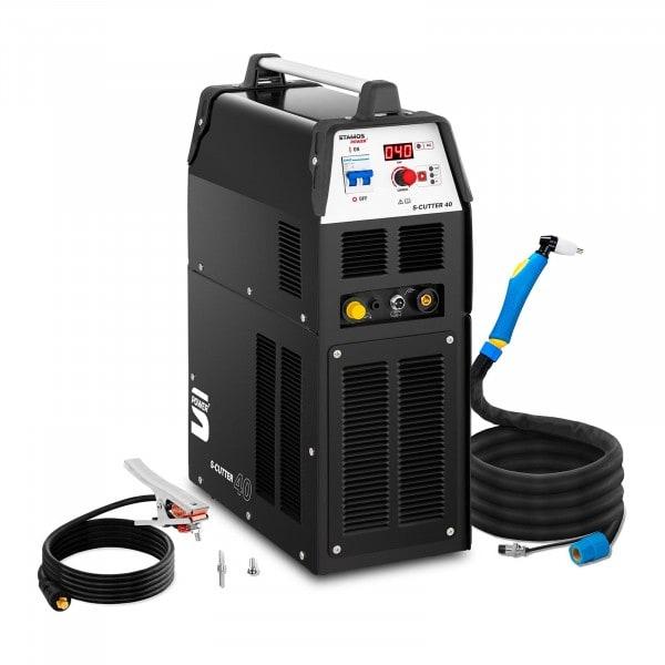 Découpeur plasma avec compresseur - 40 A - FM 60 % - Numérique - 230 V