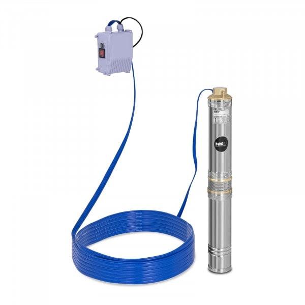 Pompe immergée - 6000 L/h - 370 W - acier inoxydable