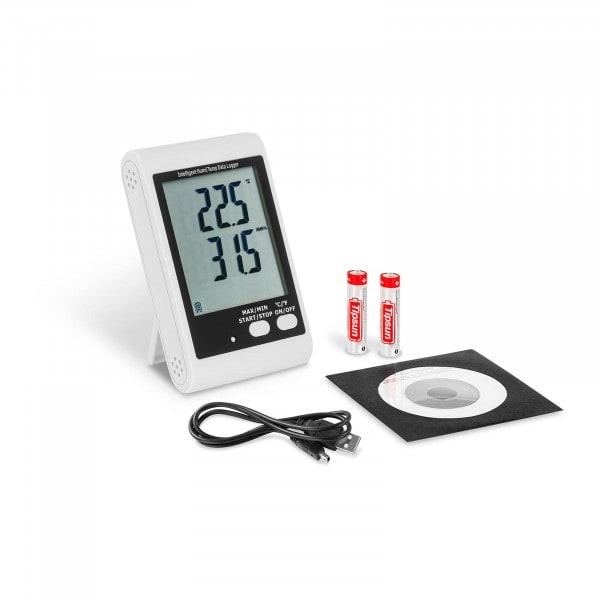 Enregistreur de données - écran LCD - température + humidité de l'air