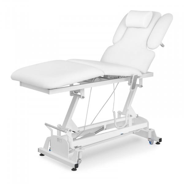Table de massage PHYSA NANTES WHITE - électrique