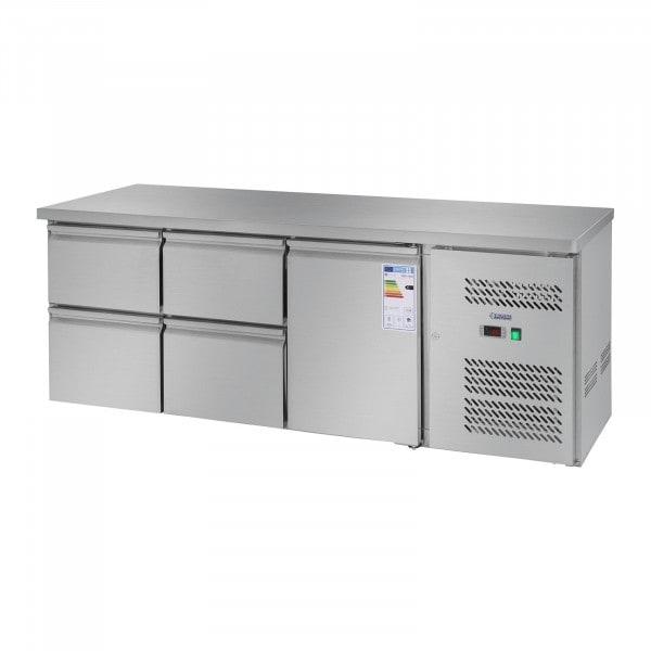 Table réfrigérée - 403 L - 1 porte - 4 tiroirs
