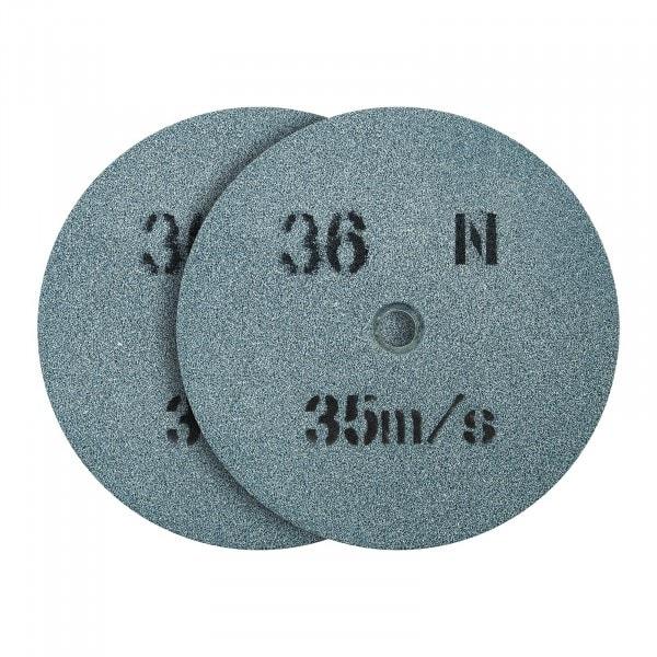 Meule de rechange pour touret a meuler - 150 x 16 mm - 36 grains