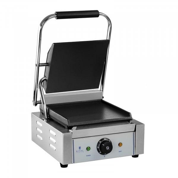 Machine à panini lisse 1 800 W