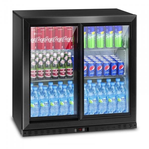 Frigo boisson - 208 L - porte coulissante