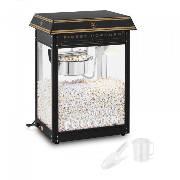 Machine à popcorn - Coloris noir et or