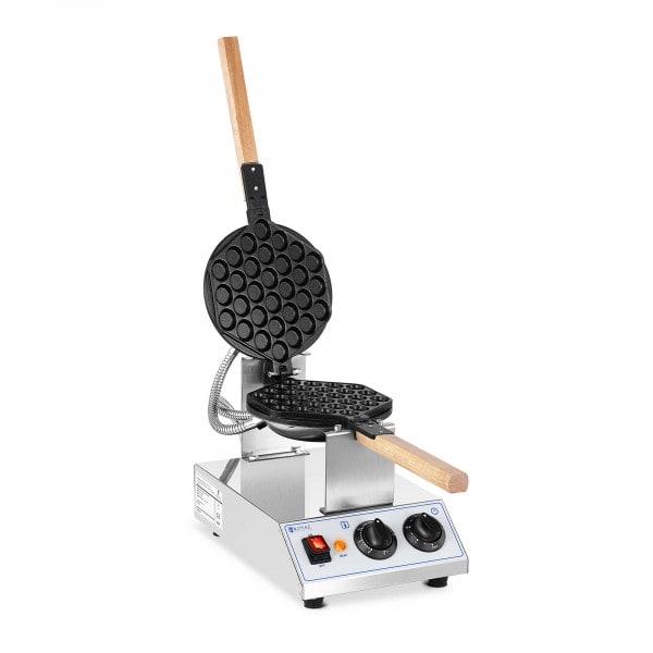 Gaufrier Bubble - 1415W - Royal Catering - 50- 250°C - Minuterie: 0- 5min
