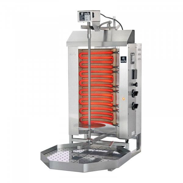 Machine à kebab - 6000 W - 30 kg de viande max.