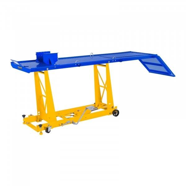 Table élévatrice moto - 450 kg - 206 x 55 cm