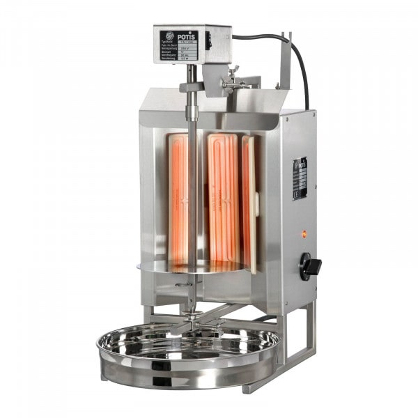 Machine à kebab - 3000 W - 7 kg de viande max.