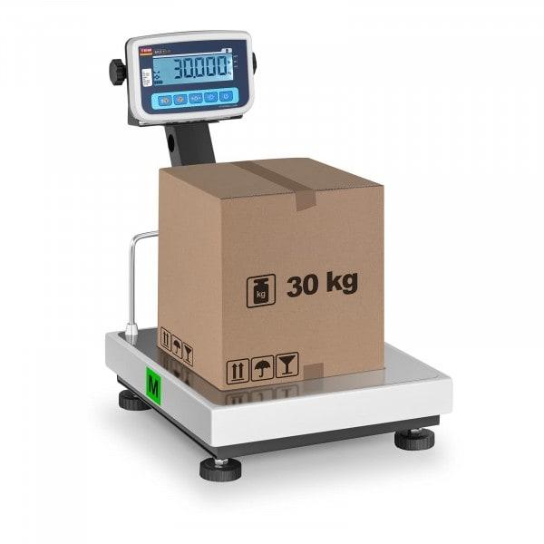 Balance plate-forme - Calibrage certifié - 30 kg / 10 g