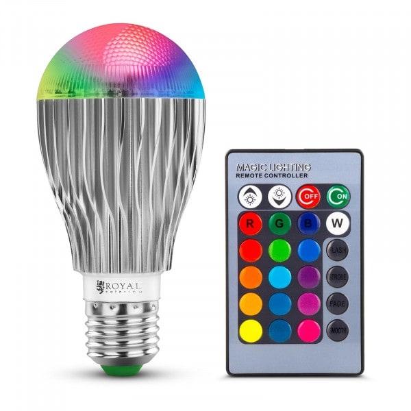 Ampoule LED avec télécommande - 16 réglages de couleur - 5 W