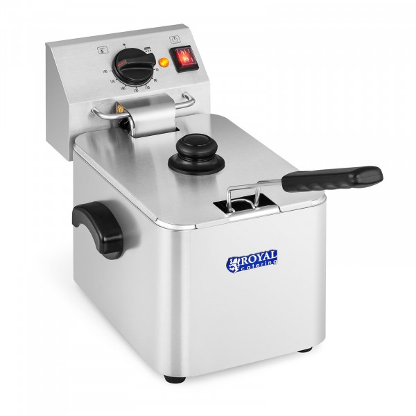 Friteuse électrique - 8 litres - Thermostat EGO