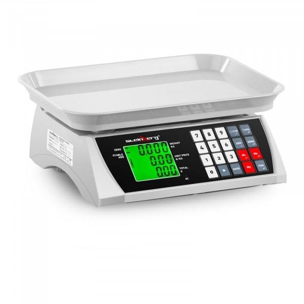 Balance de contrôle - 30 kg / 1 g - 28,8 x 21,8 cm - LCD