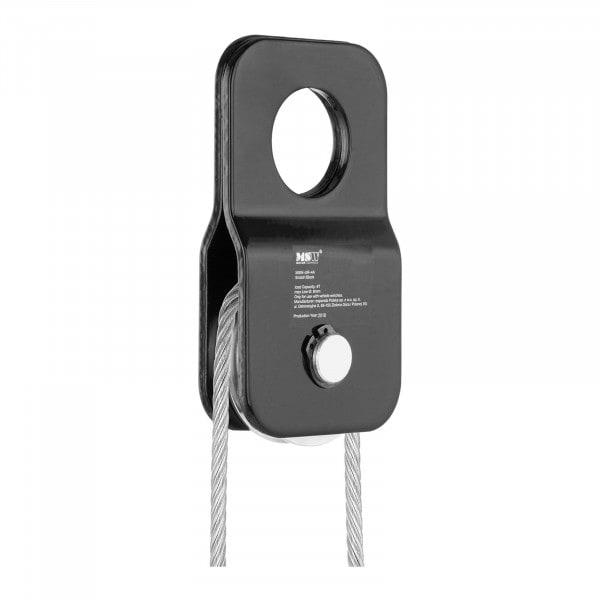 Poulie de guidage - 4 000 kg - Diamètre du câble 1 mm - 9,5 mm