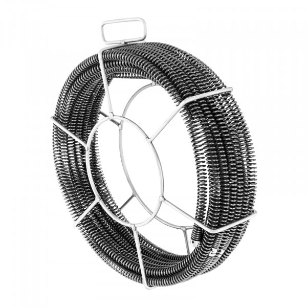 Spirales de plomberie - Lot de 5 x 2,3 m - Ø 16 mm & 1 x 2,4 m Ø 15 mm